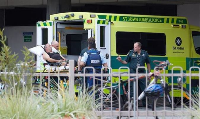 korban penembakan teroris